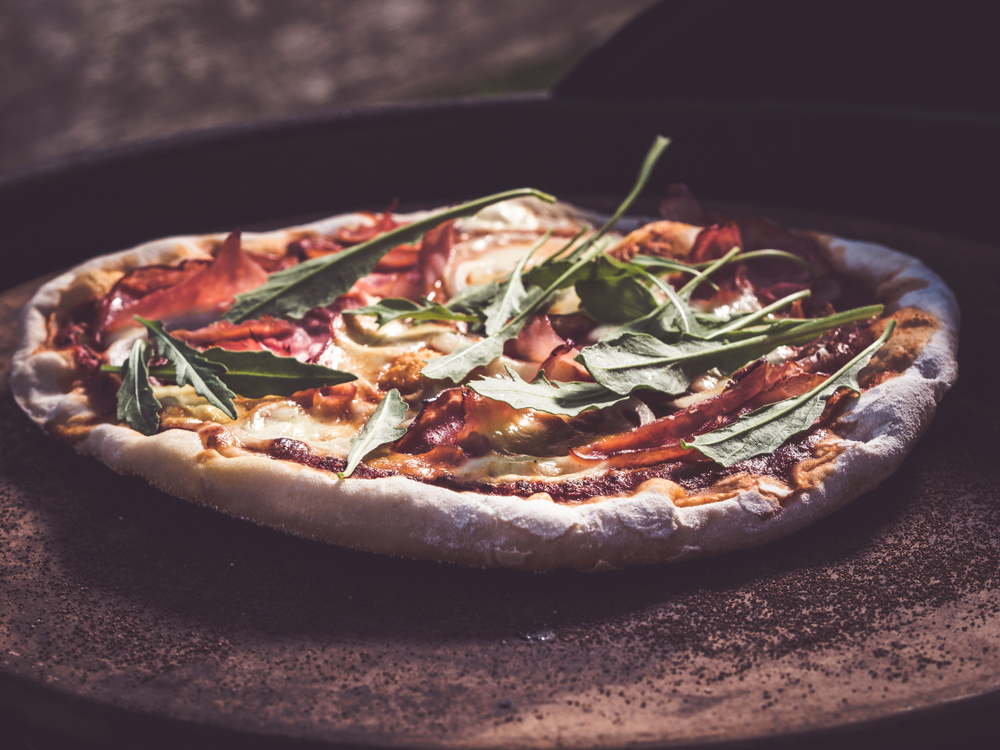 pizza stone cooking