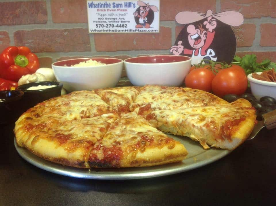 whatinthe sams hills brick oven pizza in wilkes-barre-pa